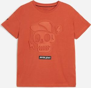 Czerwona bluzka dziecięca Reserved dla chłopców