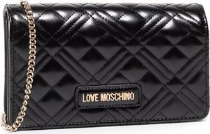 Torebka Love Moschino pikowana na ramię średnia