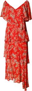 Czerwona sukienka TOVA asymetryczna