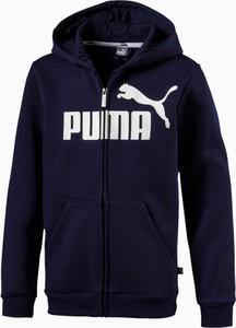 Kurtka dziecięca Puma z bawełny