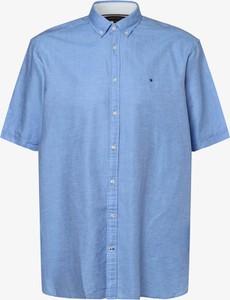 Niebieska koszula Tommy Hilfiger z krótkim rękawem