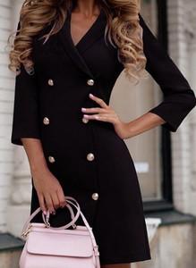 Sukienka Cikelly z bawełny z długim rękawem