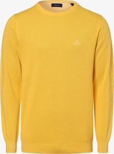 Żółty sweter Gant