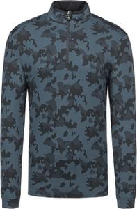 Bluza Chervo w militarnym stylu z tkaniny