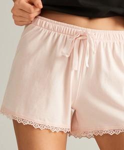 Różowa piżama Reserved w stylu casual