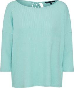 Miętowy sweter Vero Moda w stylu casual