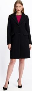 Czarny płaszcz Lavard