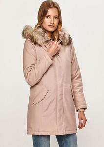 Różowa kurtka Only w stylu casual