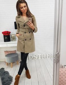 Brązowy płaszcz Dstreet