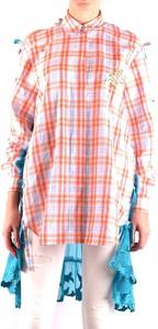 Koszula Marco De Vincenzo w stylu casual z długim rękawem z kołnierzykiem