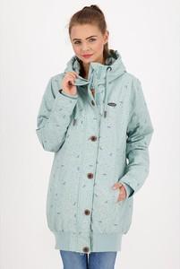 Niebieski płaszcz Alife And Kickin w stylu casual