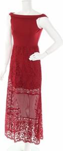 Sukienka Victory z okrągłym dekoltem maxi