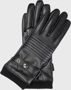 Czarne rękawiczki Kazar Studio