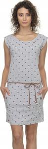 Sukienka Donna Karan z okrągłym dekoltem bez rękawów
