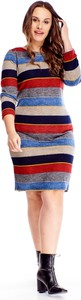 Sukienka Ptakmoda.com w stylu casual dla puszystych