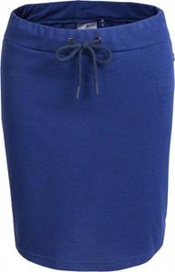 Niebieska spódnica Outhorn z bawełny w sportowym stylu midi