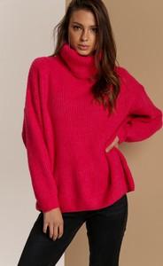 Niebieski sweter Renee w stylu casual