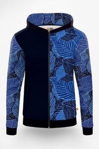 Niebieska bluza Power Canvas w młodzieżowym stylu