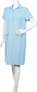 Sukienka Windsor. mini w stylu casual z okrągłym dekoltem