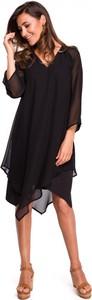 Sukienka Style midi z dekoltem w kształcie litery v w stylu boho