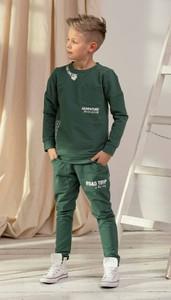 Zielone spodnie dziecięce All For Kids