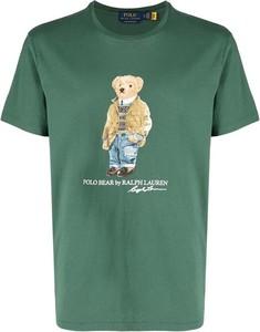 T-shirt Ralph Lauren z nadrukiem z bawełny w młodzieżowym stylu