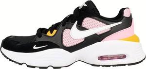 Buty sportowe Nike dual fusion z zamszu sznurowane