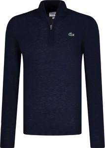 Sweter Lacoste z wełny w stylu casual