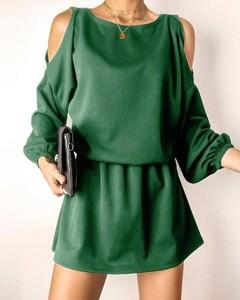 Sukienka Kendallme mini z odkrytymi ramionami