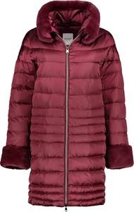 Czerwona kurtka Lavard w stylu casual