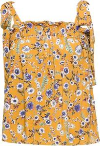 Bluzka bonprix RAINBOW z dekoltem w karo