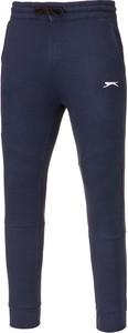 Niebieskie spodnie sportowe Slazenger z dresówki