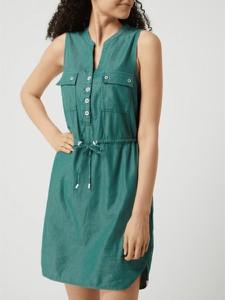 Sukienka Ragwear bez rękawów koszulowa mini