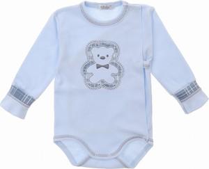 Niebieskie body niemowlęce Sofija dla chłopców