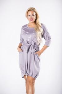 Sukienka Ptakmoda.com z długim rękawem