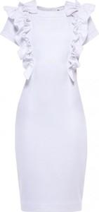 Sukienka Yuliya Babich z okrągłym dekoltem mini bez rękawów