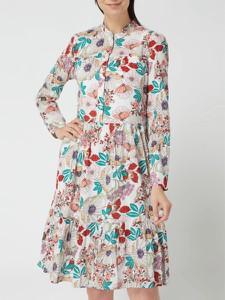 Sukienka Esprit w stylu casual z bawełny z długim rękawem