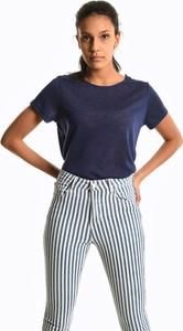 T-shirt Gate z krótkim rękawem w stylu casual