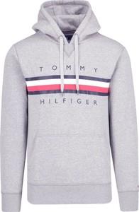 Szare bluzy męskie Tommy Hilfiger, kolekcja wiosna 2020