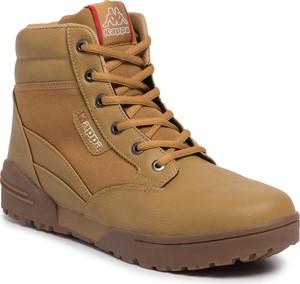 Żółte buty zimowe Kappa