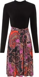 Sukienka bonprix z okrągłym dekoltem mini