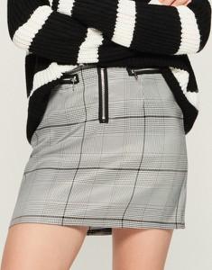 Spódnica Sinsay z żakardu mini