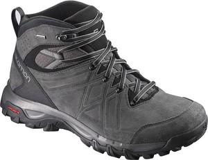 Buty trekkingowe Salomon w sportowym stylu sznurowane