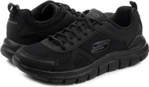 Czarne buty sportowe Skechers w sportowym stylu