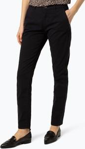 Granatowe spodnie MAC