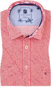 Koszula Hatico z klasycznym kołnierzykiem z bawełny