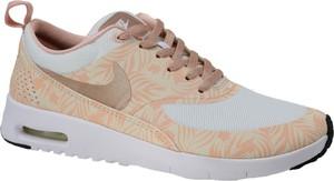 Buty sportowe Nike w młodzieżowym stylu z tkaniny z płaską podeszwą
