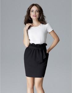 Czarna spódnica LENITIF mini