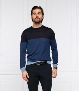 Sweter Hugo Boss z jedwabiu