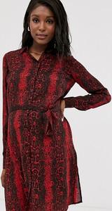 Sukienka Mama Licious z długim rękawem mini